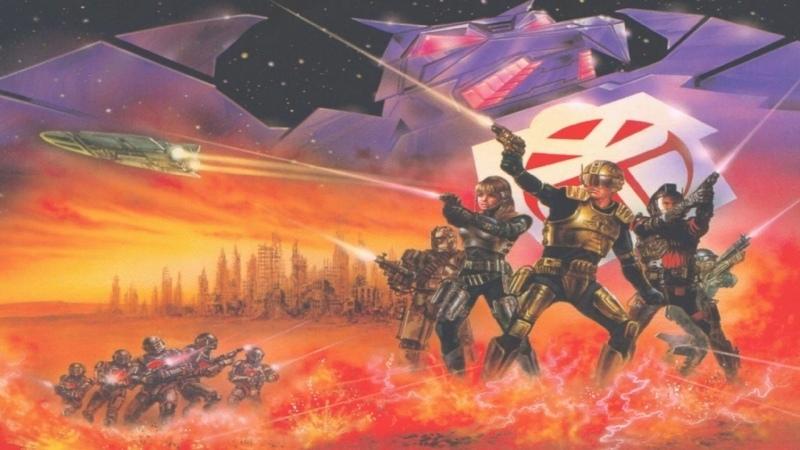 VHS Forever Капитан Пауэр и солдаты будущего 1987 сериал