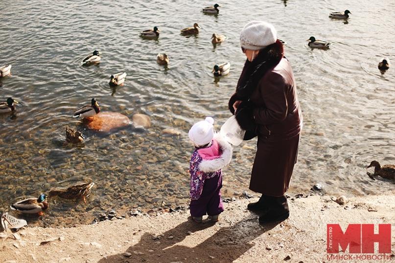 Фотофакт: в Минск пришла весна