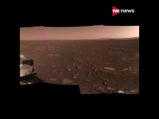 Первая панорама Марса в высоком разрешении