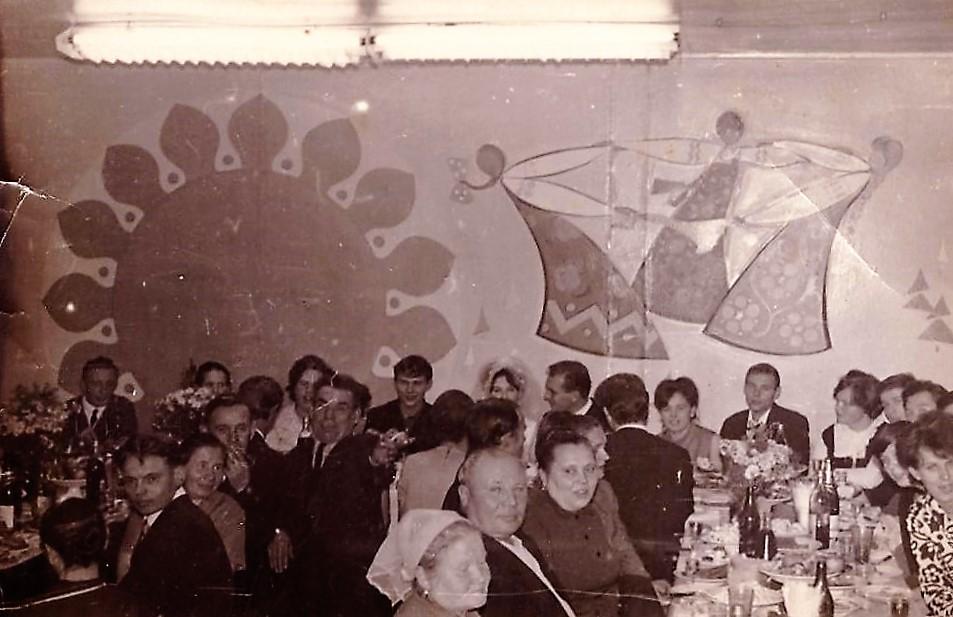 Фото 1970-ых годов, посёлок Коноша, свадьба в