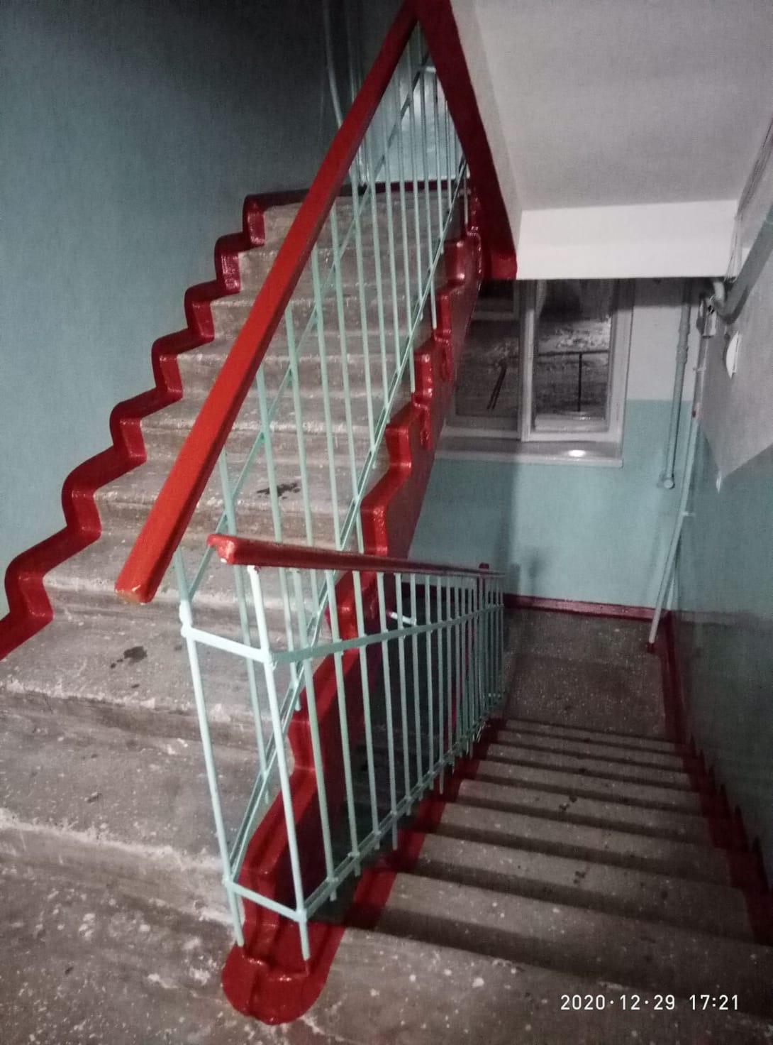 Улица Цеховая дом 4 закончены декоративные ремонты