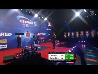 Gabriel Clemens vs Krzysztof Ratajski (PDC World Matchplay 2020 / Round 2)