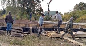 В Липецком районе возрождают храм