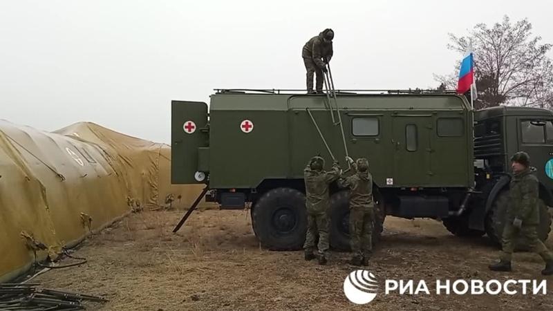 Минобороны РФ развернуло в Степанакерте военный госпиталь