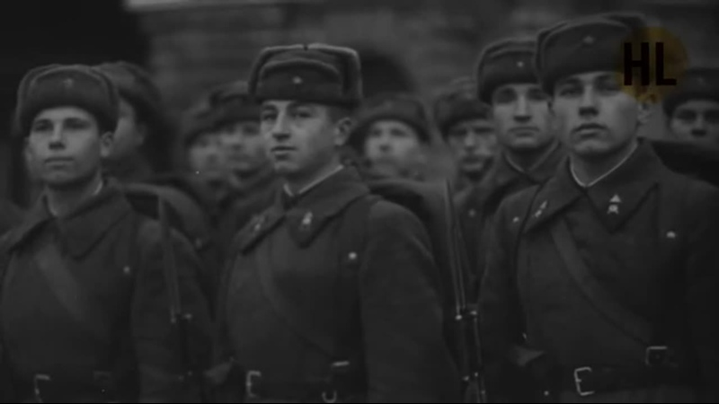 Речь Сталина на параде 7 ноября 1941 Red square parade 1941