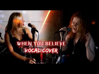 Александра Пешкова и Светлана Тиш - When you believe (Whitney Houston & Mariah Carey vocal cover)