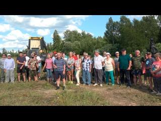 Жители Рузского округа требуют остановить массовую вырубку лесов