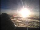 Летим в Турцию. Вид из иллюминатора. Рассвет! 27 сентября 2015