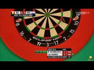 Belgium vs Netherlands (PDC World Cup of Darts 2016 / Semi Final)