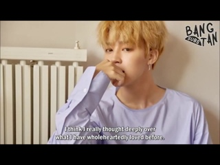 [ENG] 170918 Jimin : Letter(Love Yourself)