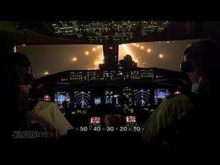 Пара взлётов Боинг 777 и посадка в грозу - Imran Pro TV