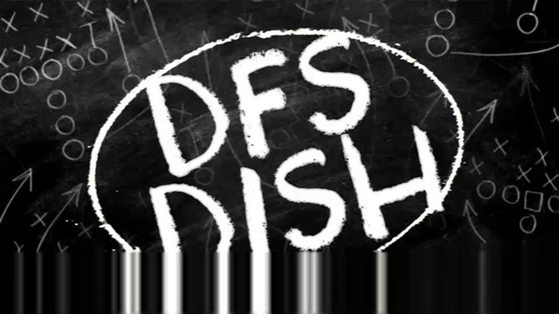 DFS Dish Week 15 Recaps Week 16 Projections Stacks and Fades DailyRoto Ep 15