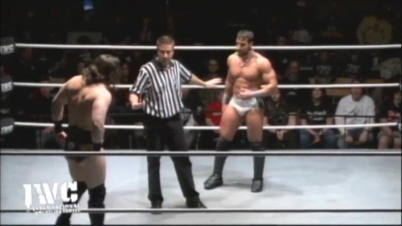 Logan Shulo Elias WWE vs Tony Nese IWC Payback 2013