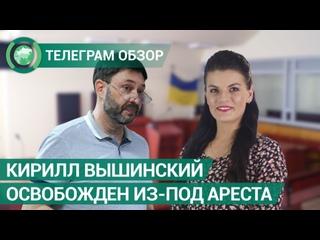 Кирилл Вышинский освобожден из-под ареста. Телеграм обзор. ФАН-ТВ