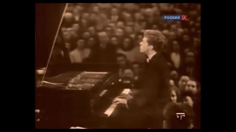 Ван Клиберн исполняет Подмосковные вечера 1958 год