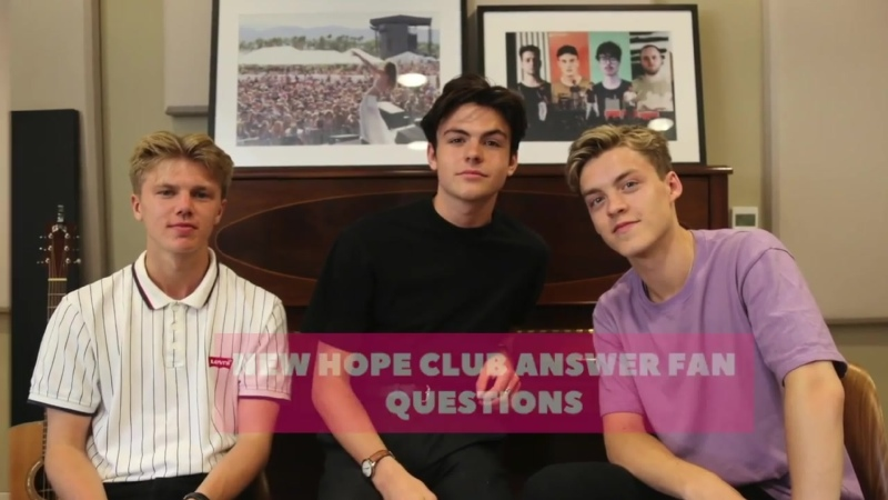 New Hope Club Fan Q A Rus Sub