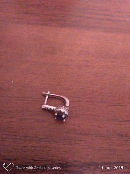 В мкр-н Рекинцо, на детской площадке найдена серёж...