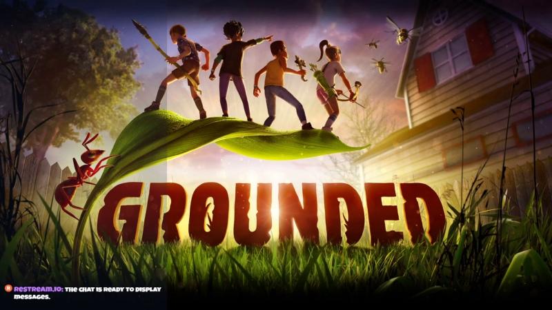 ️ Grounded Дорогая я уменьшил Детей Прохождение YAMAKASI стрим