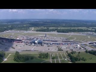 Chopper camera - Michigan - Round 22 - 2020 NASCAR Cup Series