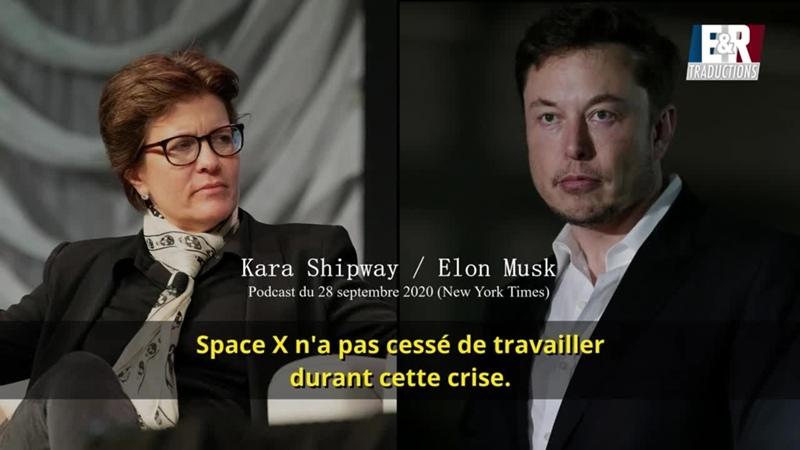 Elon Musk ne veux pas du vaccin, et traite Bill Gates dabruti
