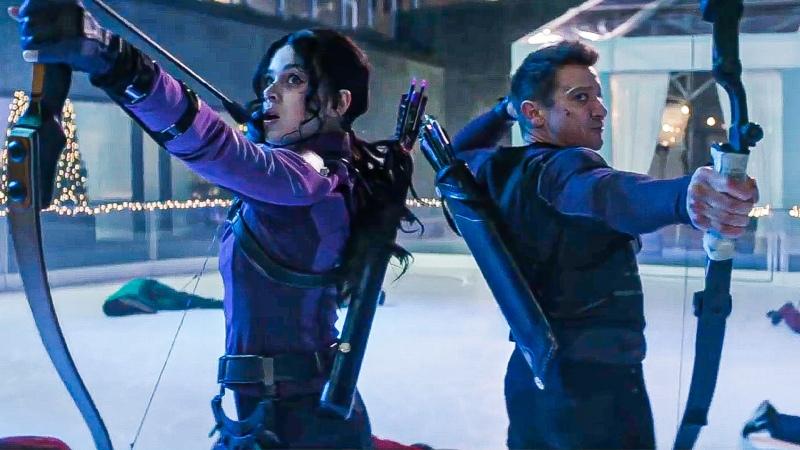 Marvels Hawkeye Disney Trailer HD Jeremy Renner Hailee Steinfeld superhero series