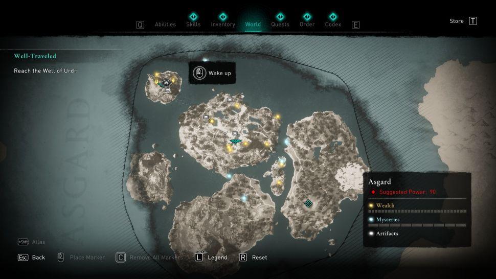 Assassin's Creed Valhalla — Как выйти из Асгарда