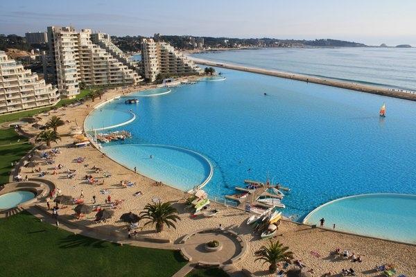 Самый большой в мире бассейн на чилийском курорте Сан-Альфонсо-дель-Мар, изображение №2