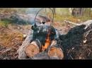 Чудесная природа, разжигаем костер, готовим кушать.