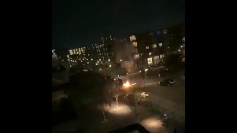 В окрестностях Амстердама в Осдорпе произошёл взрыв