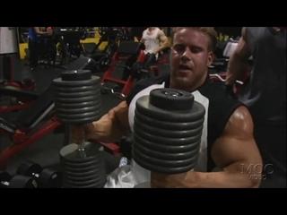 Jay Cutler Trains Chest & Calves (2007)