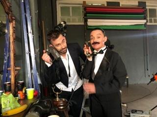 Backstage танго клипа «ОЧИ ТЁМНЫЕ»