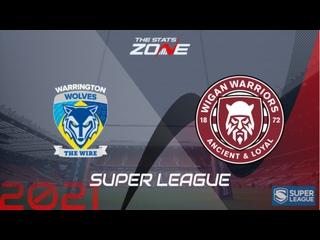 Английская Суперлига. Warrington - Wigan.