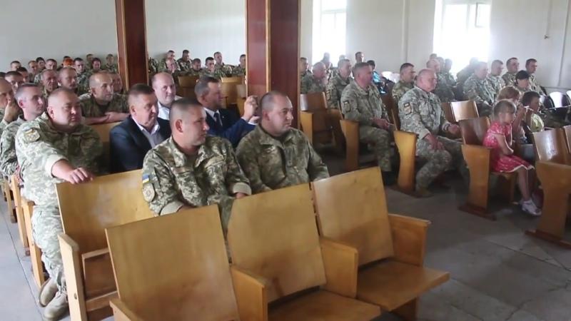 Представники влади Камінь Каширського району в гостях у 39 му ЗРП 2018 рік