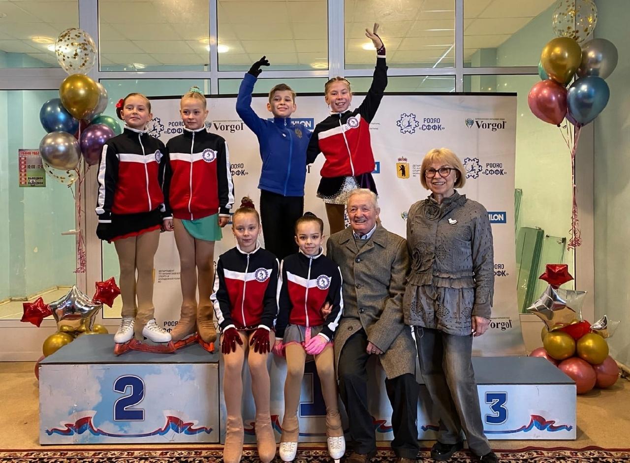 В столице Золотого Кольца в городе Ярославле 29-30 апреля состоялось открытое первенство города по фигурному катанию на коньках «Кубок Ярослава Мудрого».