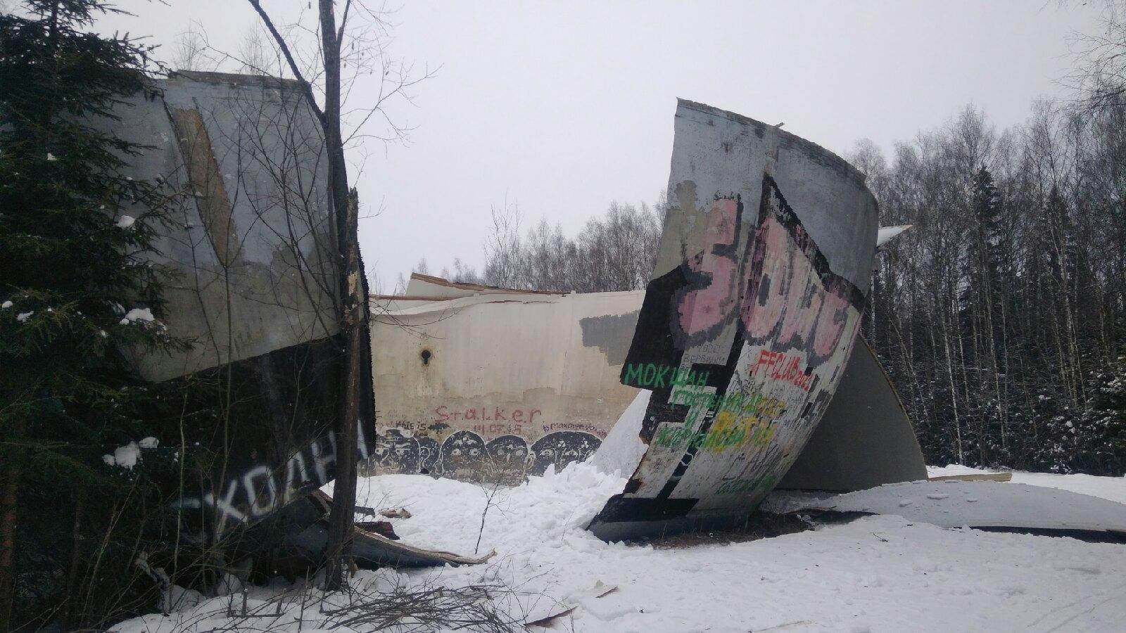 Кимрский район лишился легендарной достопримечательности - загадочного шара