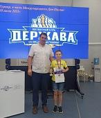 Победа юного шахматиста на играх в Тамбове