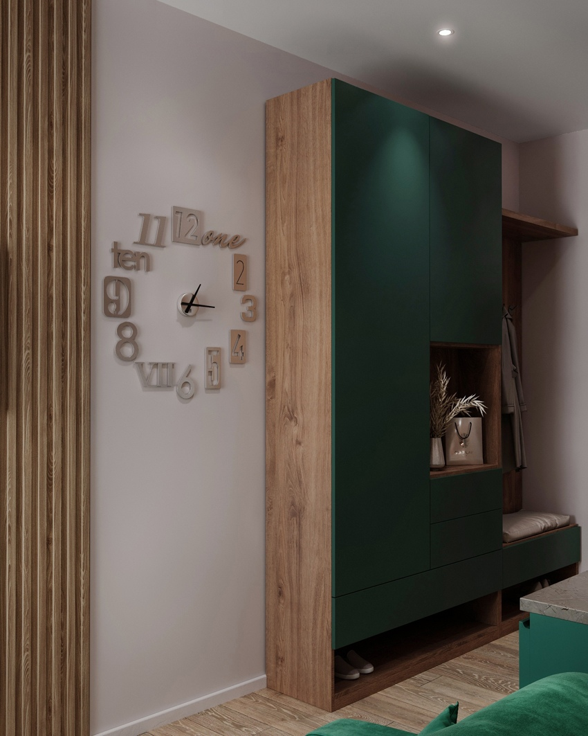 Проект маленькой студии (до 20 кв.