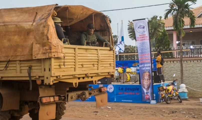 США, Франция и Великобритания обвинили российских наемников в Центральноафриканс...