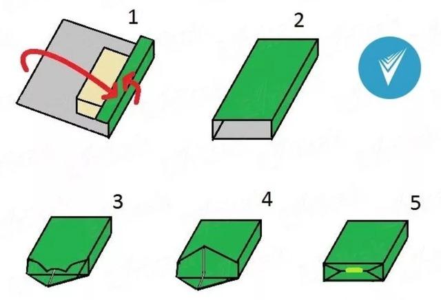 как упаковать коробку в бумагу своими руками пошагово,
