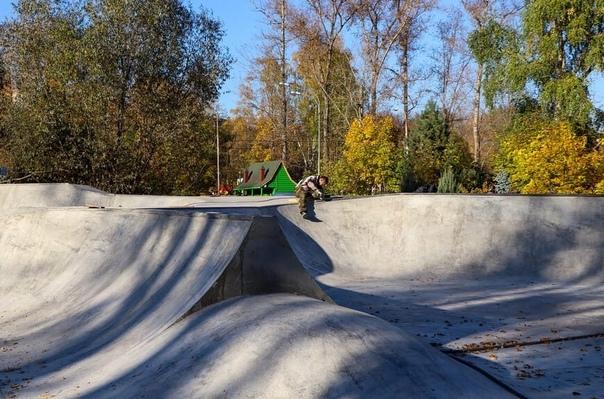 В Мытищах завершается строительство скейт‑парка!В ...