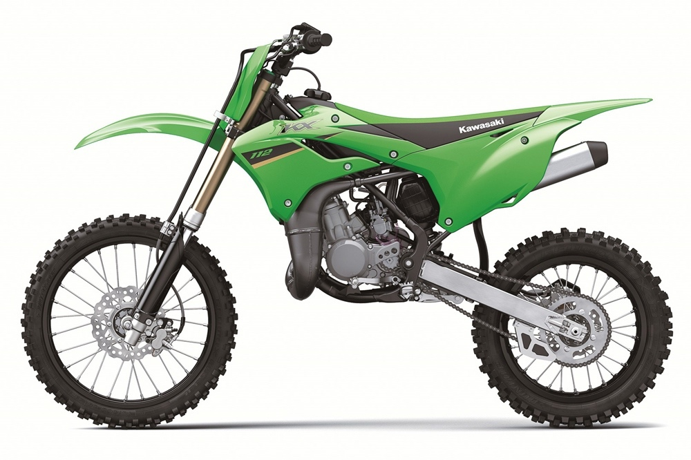 Маленький кроссбайк Kawasaki KX112 2022