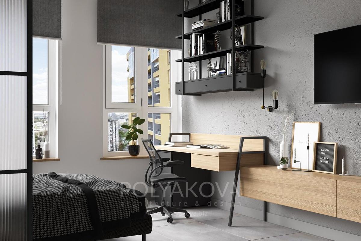 Проект квартиры-студии почти 33 кв.