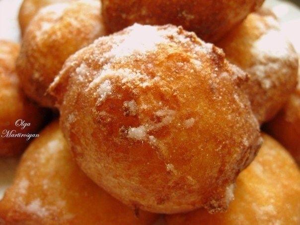 """Пончики """"Московские"""" из творога"""
