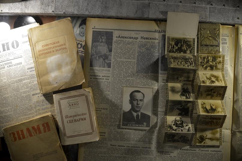 Материалы к фильму «Александр Невский» 1938 года режиссера Сергея Эйзенштейна