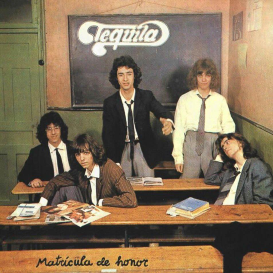 Tequila album Matrícula de honor