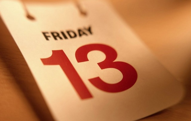 Календарь «Пятниц,13» до 2050 года