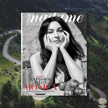 Моника Беллуччи снялась для французского журнала и рассказала о материнстве