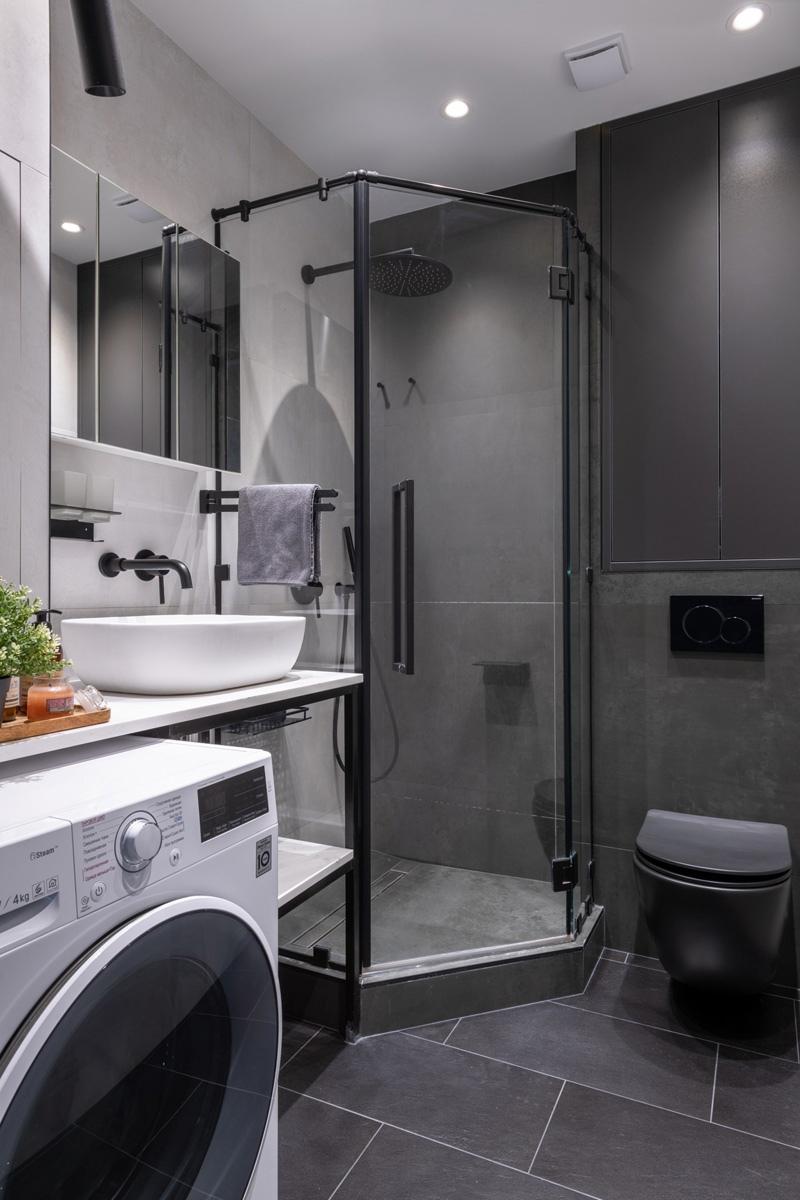 Интерьер маленькой квартиры-студии 23 кв.