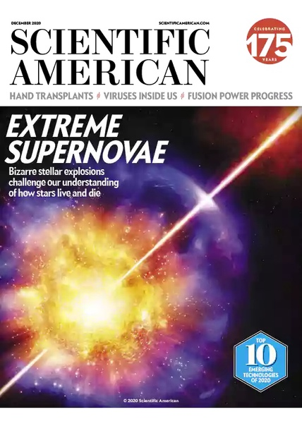 Scientific American - December 2020