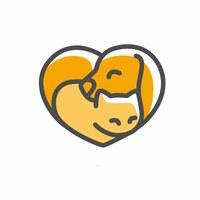 """Логотип Помощь бездомным животным """"Добрые сердца"""""""